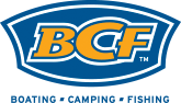 BCF Boating Camping Fishing logo